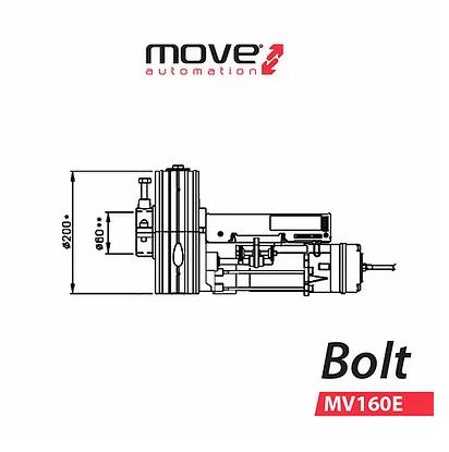 Motor de automatismo para puerta enrollable Move Automation